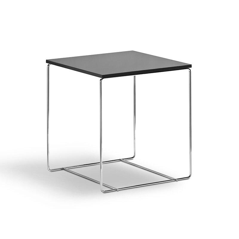 beistelltisch schwarz hochglanz 40x40 49 00. Black Bedroom Furniture Sets. Home Design Ideas