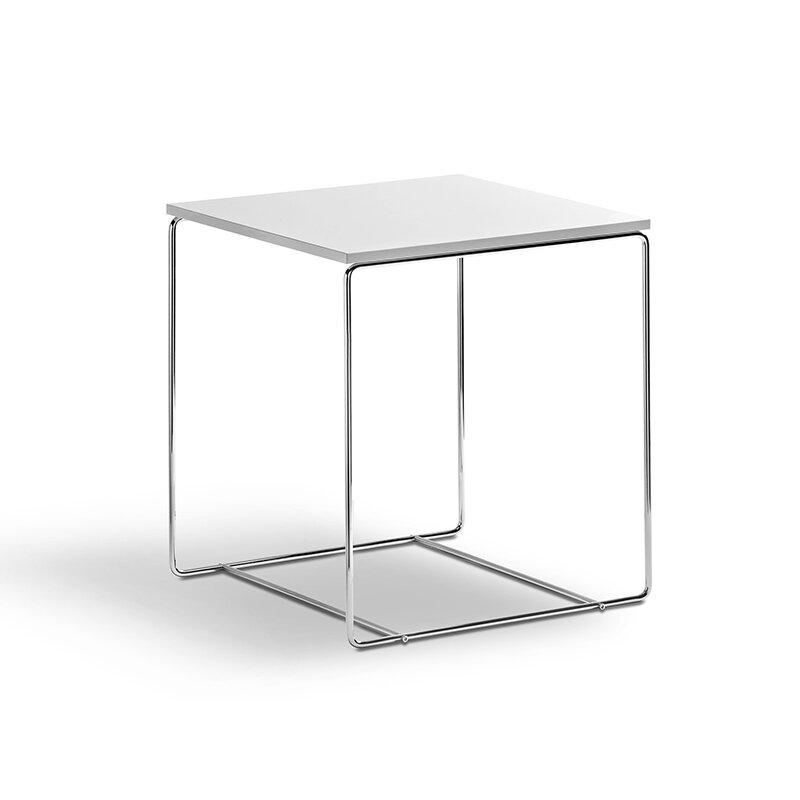 beistelltisch weiss hochglanz 40x40 49 00. Black Bedroom Furniture Sets. Home Design Ideas